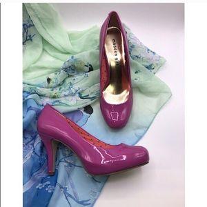 "Madden Girl ""Getta"" pink pumps size 7"